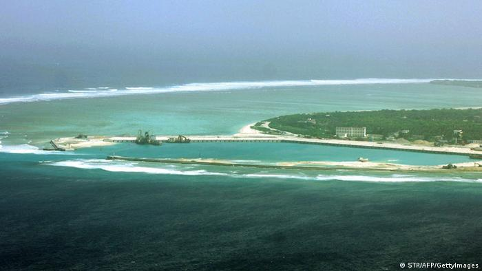 Paracel Islands in the South China Sea