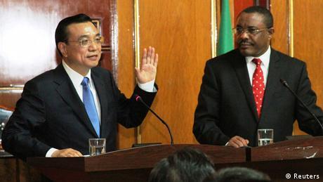 Li Keqiang Präsident China Besuch in Äthiopien mit Hailemariam Desalegn