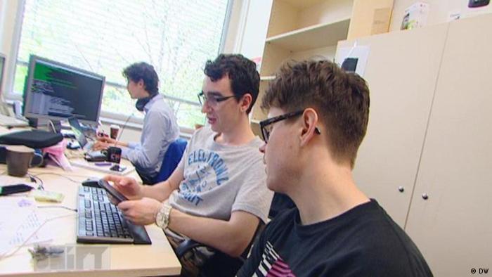 DW Shift Big Data Projektteilnehmer vor Computern