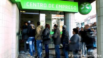 Young unemployed Portuguese