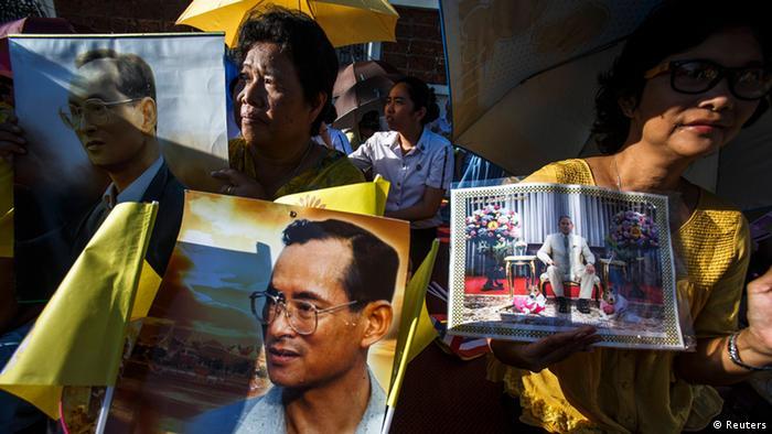 Bhumibol Adulyadej feiert 64. Thron-Jubileum 05.05.2014 (Reuters)