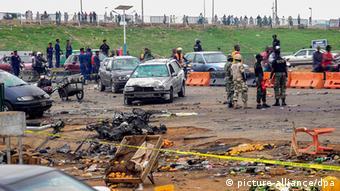 Nigeria bomb blast in Abuja