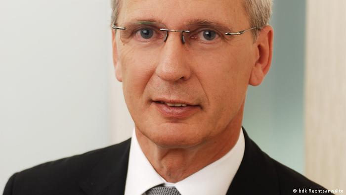 Deutschland Nebenklage Anwalt im NSU-Prozess Thomas Bliwier