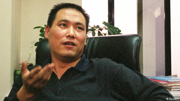 China Anwalt Pu Zhiqiang Festnahme Archivbild 2004