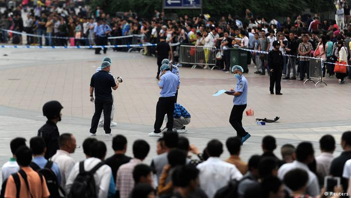 China Guangzhou Messer Attacke Angriff Bahnhof