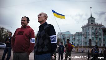 OSZE Beobachter in Ukraine Archiv 19.04.2014
