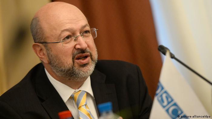 ОБСЄ, Ламберто Заньєр, кордон, мінські домовленості, перемир'я, українсько-російський кордон.