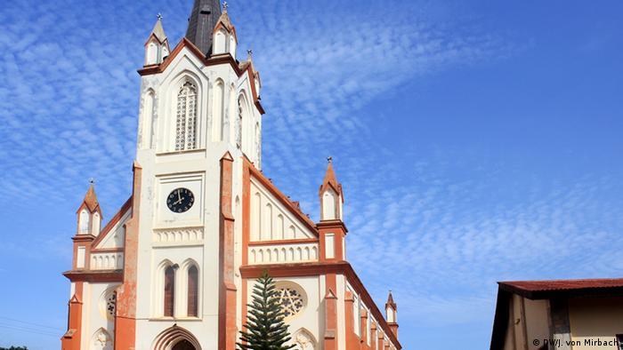 Bildergalerie Togo Erinnerungen an die deutsche Kolonialzeit Kirche in Kpalimé