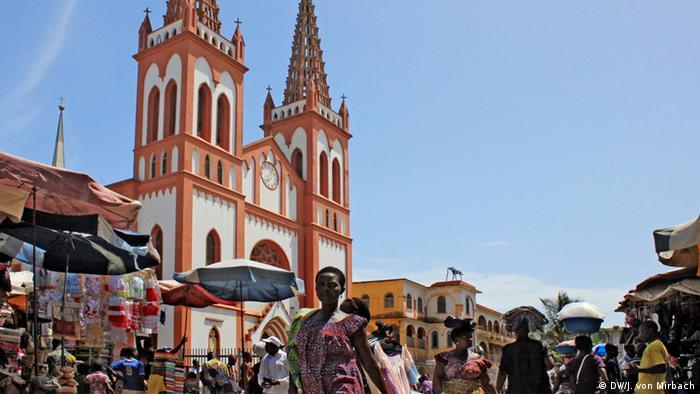 Bildergalerie Togo Erinnerungen an die deutsche Kolonialzeit Die Kathedrale in Lomé