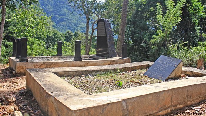 Bildergalerie Togo Erinnerungen an die deutsche Kolonialzeit deutscher Friedhof Misahöhe