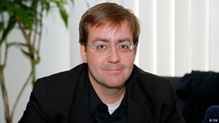 Christian Mihr, director de Reporteros sin Fronteras en Alemania y miembro del jurado de los Bobs.