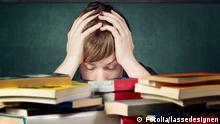 Student im Stress