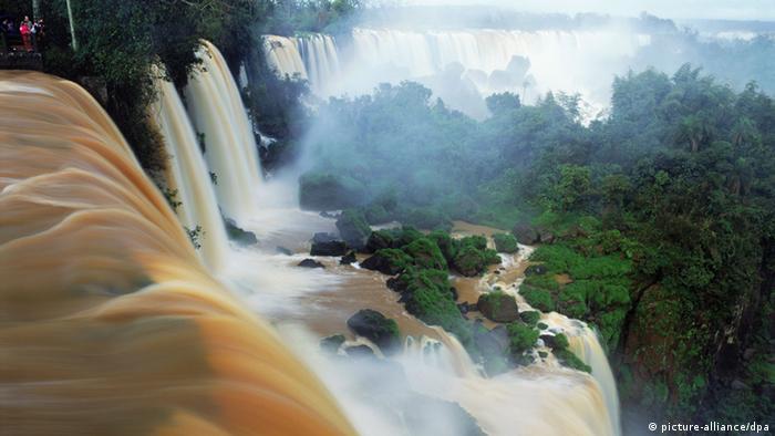 Iguazu-Wasserfälle in Brasilien