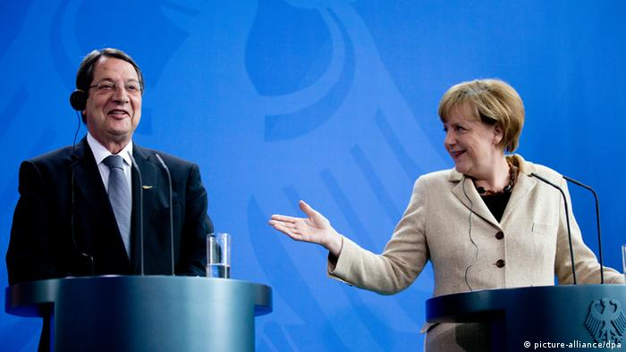 Merkel mit Anastasiadis PK 06.05.2014 in Berlin