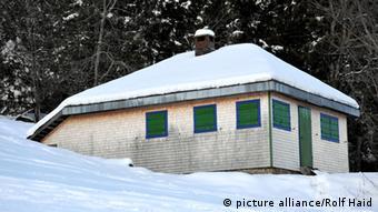Die Hütte des Philosophen Martin Heidegger