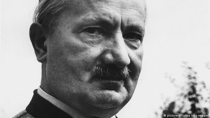 Martin Heidegger um 1950