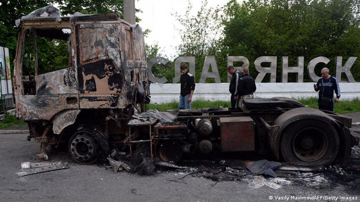 Bildergalerie Ostukraine 06.05.2014 Slowjansk
