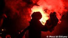 Auseinandersetzungen und Plizei Gewalt gegen Demonstranten in Talaat Harb Platz/ Kairo (26.11.2013); Copyright: Mosa'ab Elshamy