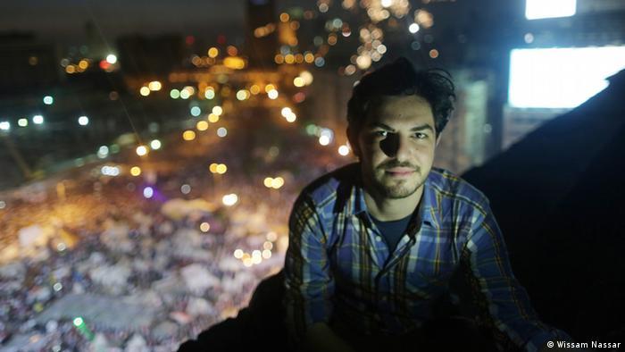 Mosa'ab Elshamy, ganador del Mejor Blog en los Bobs 2014.