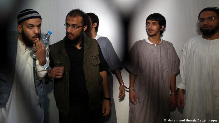 Al-Kaida-Terroristen aus Saudi-Arabien