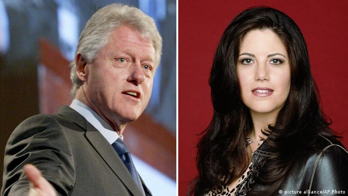 Haushaltsstreit USA Monica Lewinsky (picture alliance/AP Photo)