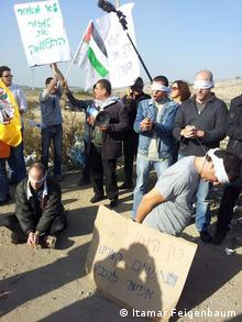 Demonstration Isralien Palestinien