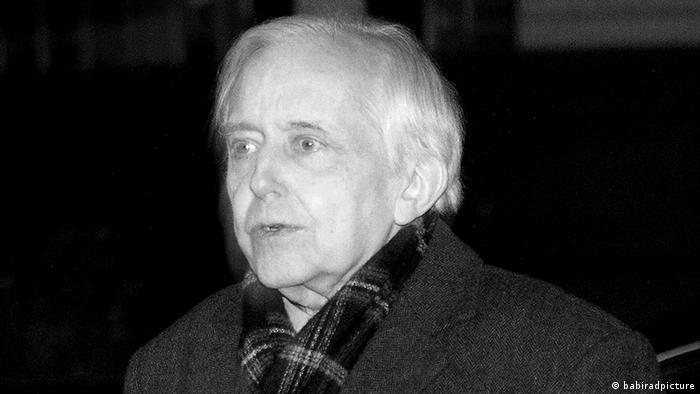 Deutschland Cornelius Gurlitt in München Schwabing S/W