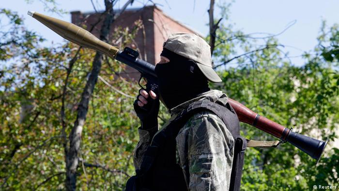 Сепаратист у Донецьку, 6 травня