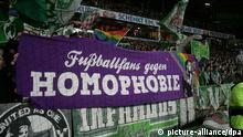 Symbolfoto Homosexualität im Fußball