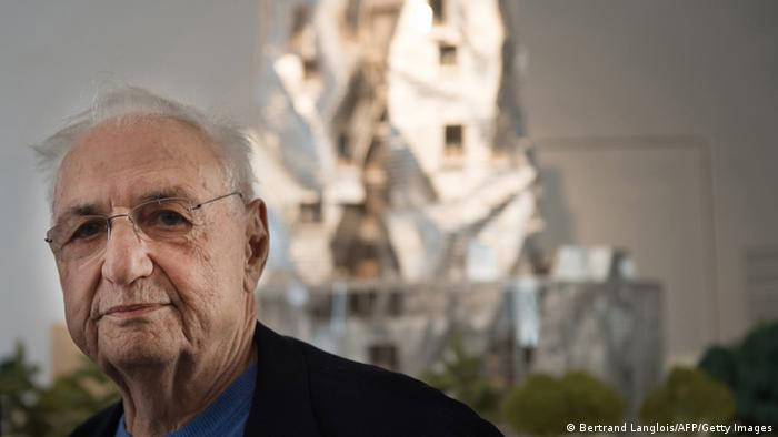 Frank Gehry Architekt aus USA und Kanada (Bertrand Langlois/AFP/Getty Images)