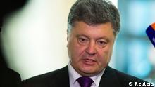 Deutschland Ukraine Präsidentschaftskandidat Petro Poroschenko in Berlin