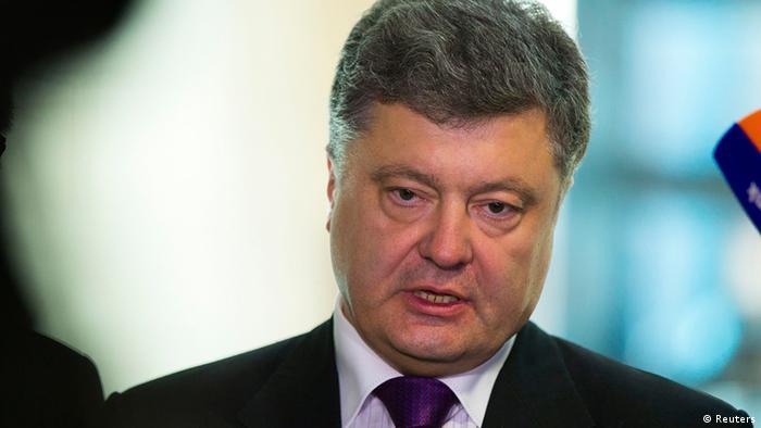 Народний депутат України Петро Порошенко під час візиту в Берлін, 7 травня 2014 року