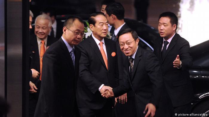 Soong Chu-yu Ankunft Peking