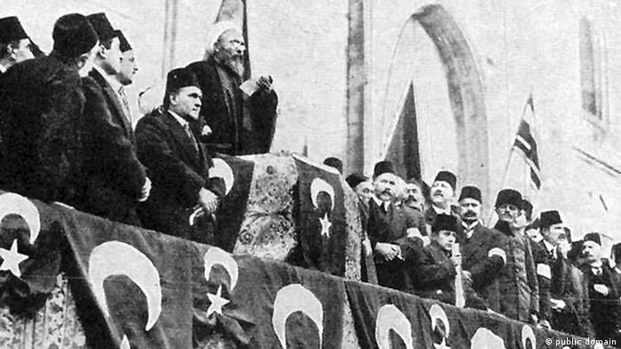 Krieg der Propaganda Osmanen Wilhelm II in Konstantinopel 1915