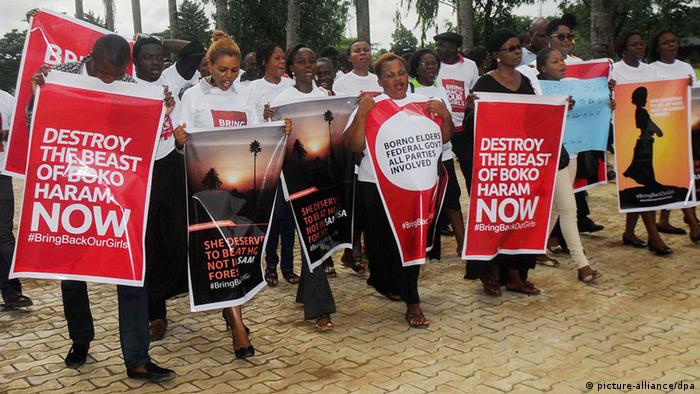 Anti Boko Haram Demonstration Nigeria (photo: EPA/STR)