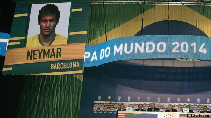 Brasilien Luiz Scolari Bekanntgabe WM Kader 07.05.2014