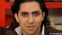 Raif Badawi ist ein saudischer Internet-Aktivist und politischer Gefangener. Quelle: Facebook