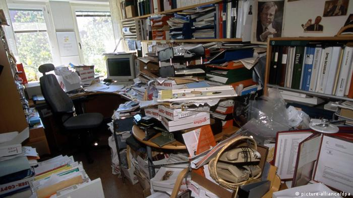 Office of a hoarder