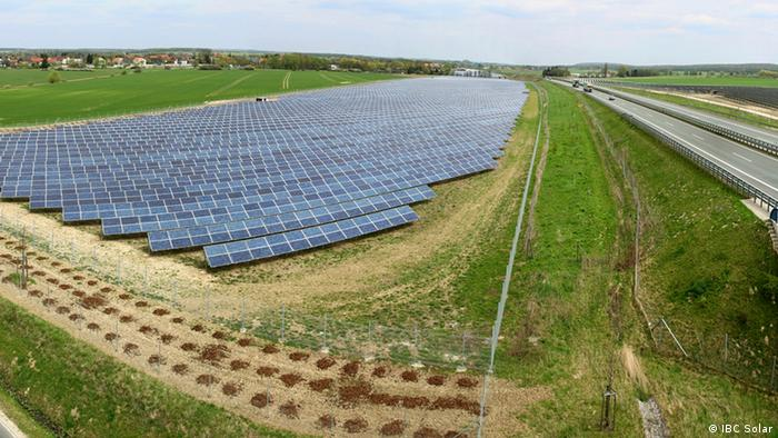 Citizen-owned solar park near Wolfenbüttel Schandelh