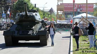 Ostukraine Krise Luhansk 08.05.2014