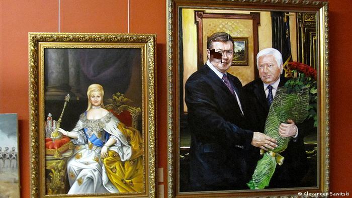 Віктор Пшонка (на картині праворуч), як стверджує прокуратура, відкривав і закривав справи за гроші
