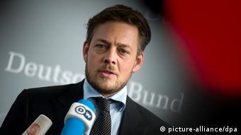 Αναποτελεσματικός ο κοινοβουλευτικός έλεγχος των μυστικών υπηρεσιών, δηλώνει ο πολιτικός των Πρασίνων Κόνσταντιν φον Νοτς (picture-alliance/dpa)