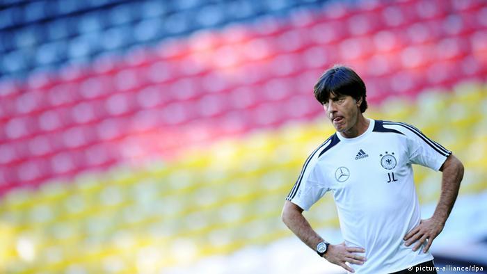 Bundestrainer Joachim Löw Training 2013