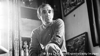 Charles Aznavour, shown in 1965