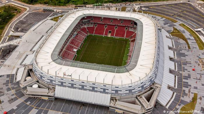 Arena Pernambuco, em Recife