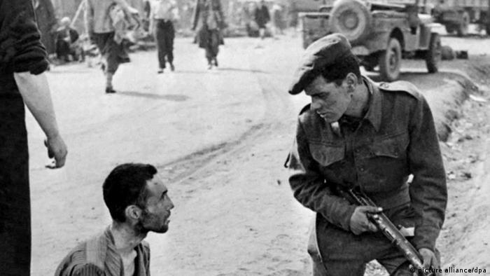 Deutschland KZ zweiter Weltkrieg Befreiung von Konzentrationslager Bergen-Belsen
