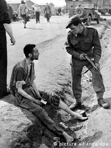 آزادی زندانیان پس از سقوط رژیم نازیها در آلمان