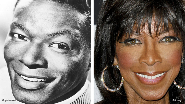 Nat King Cole and Natalie Cole Bildkombi