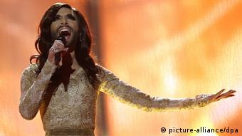 Eurovision Song Context 2014 Conchita Wurst (picture-alliance/dpa)