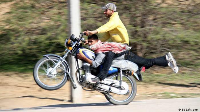 Gefährliches Motorradfahren im Iran (Bildergalerie) (Bo2aks.com)